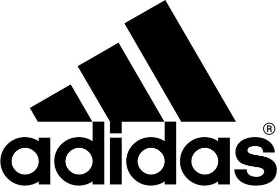阿迪达斯标志logo设计 高清图片